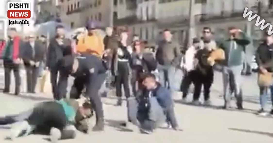 Photo of ببینە پۆلیسی ئیسپانیا چۆن لەو كۆچبەرانە ئەدات