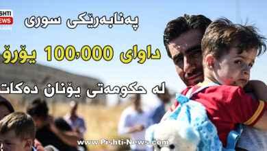 Photo of پەنابەرێكی سوری داوای 100.000 یۆرۆ وەك قەرەبوو لە حكومەتی یۆنان دەكات